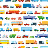 Toy car pattern Stock Photography