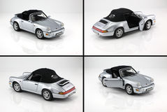 Toy car porsche 911 Royalty Free Stock Photos