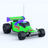 Toy car racing radio panel Royalty Free Stock Image
