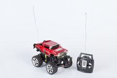 Toy car with radio remote control Stock Image