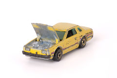 Toy Car Repair Royalty Free Stock Image