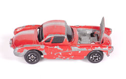 Toy Car Repair Royalty Free Stock Photography