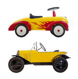 Toy car for toddler Stock Images