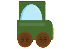Toy car tractor Royalty Free Stock Image