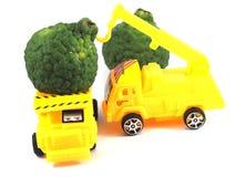 Toy car truck herb bergamot Royalty Free Stock Image