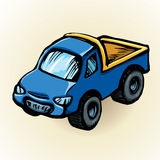 Toy car. Vector drawing Stock Image