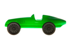 Toy Car verde fotografia stock