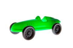 Toy Car verde Fotos de archivo libres de regalías