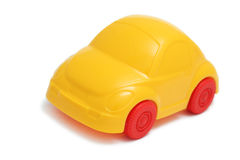 Toy car on white background Stock Photo