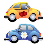 Toy cars. Image of two toy cars Royalty Free Stock Photography