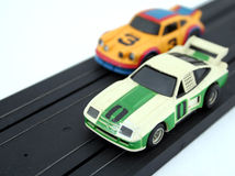 Toy cars. Classic, old toy cars from the past royalty free stock photo