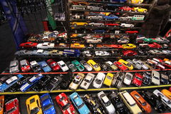 Toy cars. Chicago auto show February 2011 Stock Photo