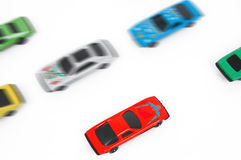 Toy cars. Hot-wheels royalty free stock photography