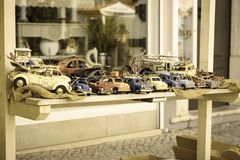 Toy Cars Royaltyfri Bild