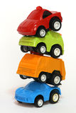 Toy Cars. Group of tiny toy cars for fun Stock Photography