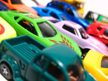 Toy-cars. Detail toy-cars, baby boy´s hobby Stock Image