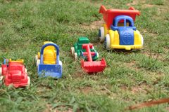 Toy cars are available for children. Royalty Free Stock Photo