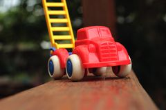 Toy cars are available for children. Royalty Free Stock Images