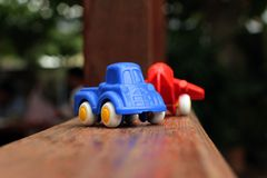 Toy cars are available for children. Royalty Free Stock Image