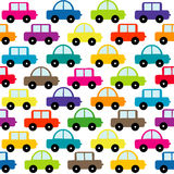Toy cars background Royalty Free Stock Photo