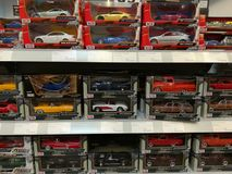 Toy cars for children Royalty Free Stock Photography