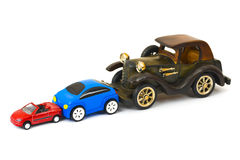 Toy cars Stock Images