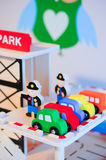 Toy cars Royalty Free Stock Photography