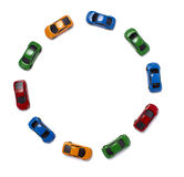 Toy cars traffic transportation Royalty Free Stock Image