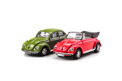 Toy cars. On white isolated background Royalty Free Stock Photo