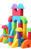 Toy castle Royalty Free Stock Images
