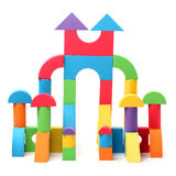 The toy castle Royalty Free Stock Photography