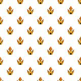 Toy castle pattern, cartoon style Royalty Free Stock Photography