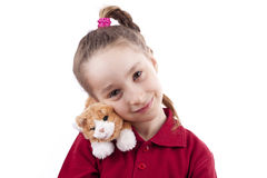 Toy cat Royalty Free Stock Photos