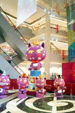 The toy cat, in store display Royalty Free Stock Photo