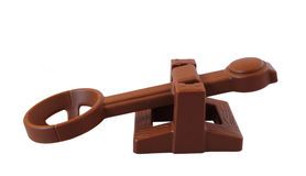 Toy catapult Royalty Free Stock Photo