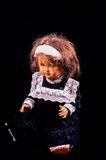 Toy Ceramic Doll image stock