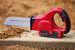 Toy Chain Saw Royalty Free Stock Image