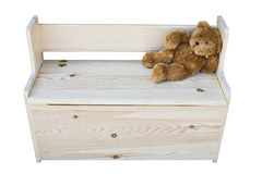 Toy chest Royalty Free Stock Photos