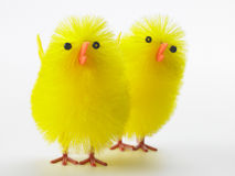 Toy Chick For Easter Celebrations Royalty Free Stock Photography