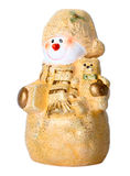 Toy Christmas snowman Stock Photos