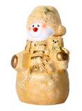 Toy Christmas snowman Stock Photos