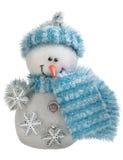 Toy christmas snowman isolated Stock Photos