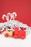 Toy Christmas Train Stock Image