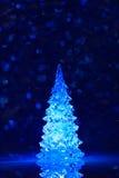 Toy Christmas tree background Royalty Free Stock Photos