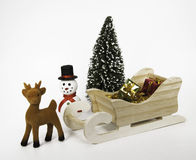Toy Christmas Stock Image