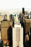 Toy city. A Toy city with Tilt-Shift-effect stock photography