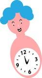 Toy Clock Photos libres de droits