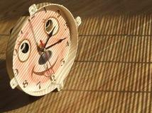 Toy Clock Imagen de archivo libre de regalías