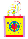 Toy clock Stock Photos