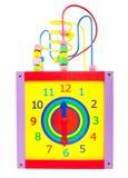 Toy clock Stock Photos